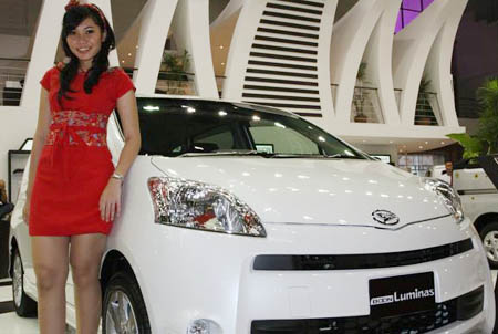 SPG Mobil Daihatsu SPG Mobil Suzuki SPG Mobil Hyundai SPG Mobil Honda